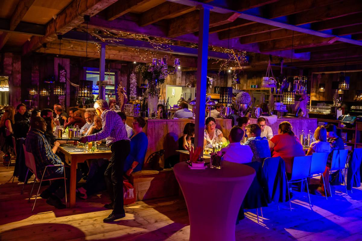 Our Seaside diner en feest